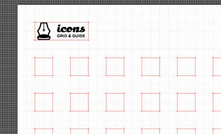 Icon Set Grid and Guides by ♜ Monsieur Didi