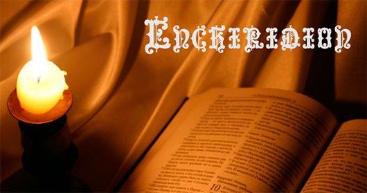 Enchiridion Free Font by Chyrllene K.