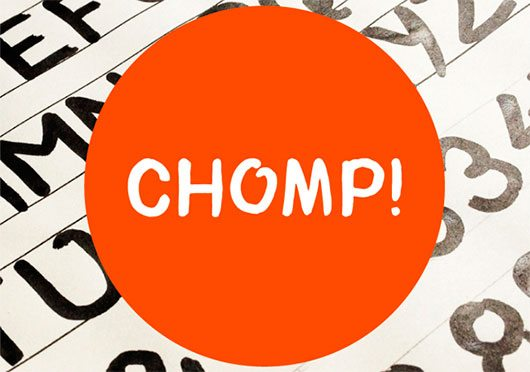 Chomp! Typeface by Bayley Design