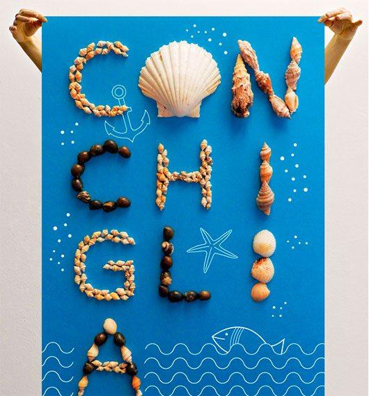 Poster / Conchiglia by Giulia Ripamonti