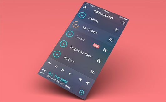 Gravertical Screen Layers + iOS 7 Screen Converter by Balraj Chana