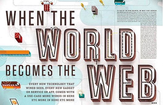 The internet of things illustration by kellianderson