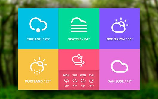 Weather Widget by Dylan Opet