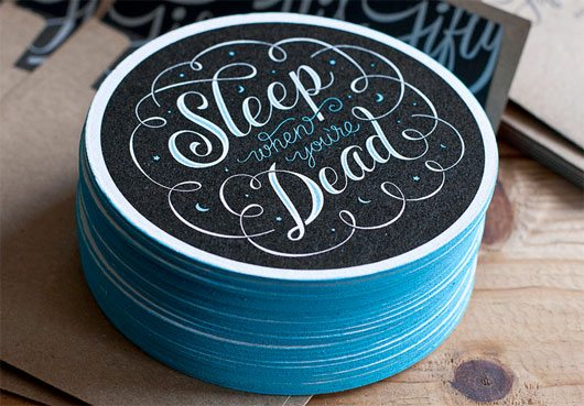 Sleep Coasters by 55 Hi's