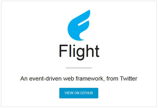 Flight - an event-driven web framework from Twitter