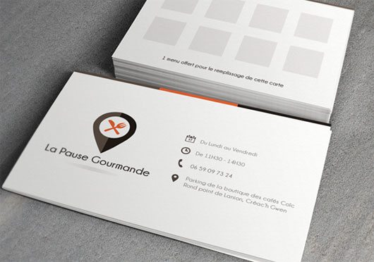 Collection Of Free Business Card PSD Templates - Free business card template psd