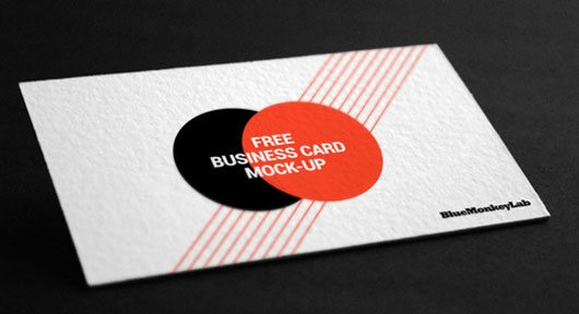 Business Card Mock-up by BlueMonkeyLab