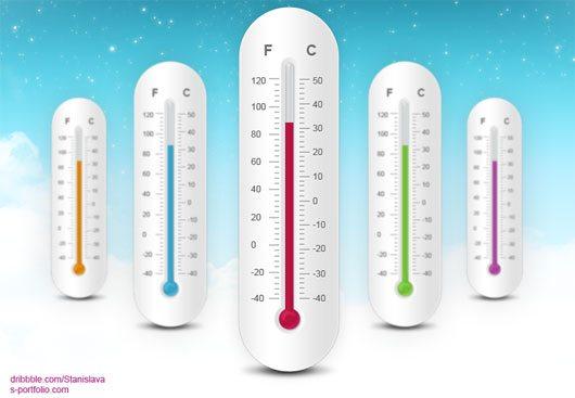 Thermometer Free Psd by Stanislava Stojanovic