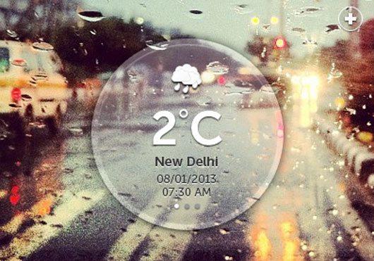 Weather Widget - Part 2 by Avinash Tripathi