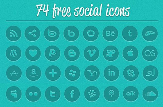 Socialico Free font by Fontfabric