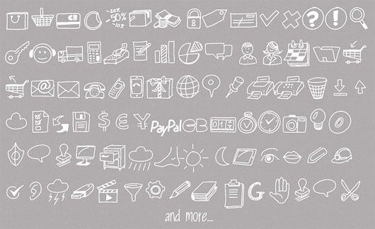 Drawn Icons Font