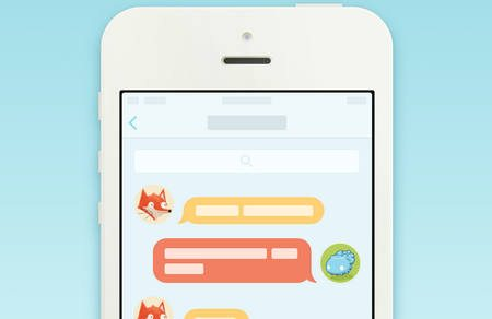 iOS 7 Chat View Interaction by Neway Lau