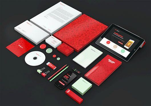 Brandiegames identity & webdesign