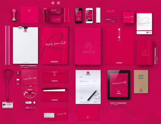 ROSSINI | EVOLUTION OF BRAND by CLEVERSON FERRARA