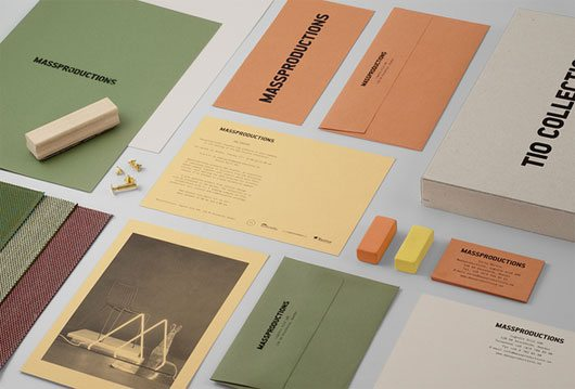 Massproductions — Graphic identity by BrittonBritton