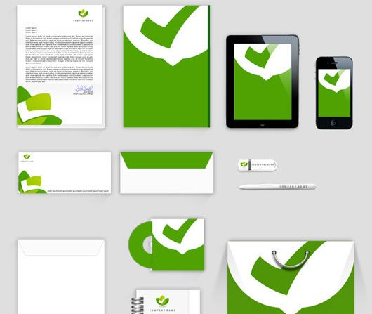 PSD Corporate Identity Mock Up by Everard McBain