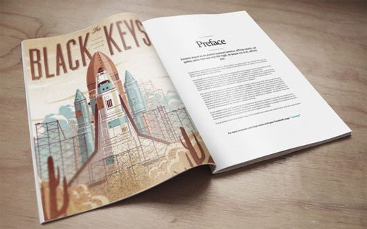 Magazine Mock-Up PSD Freebie by Eduardo Mejia