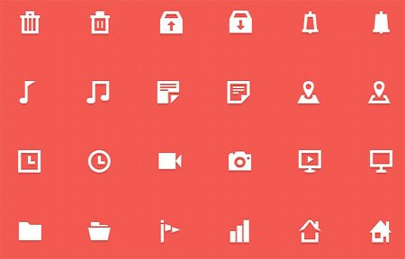 30 Free Icons (with PSD) by Bluroon