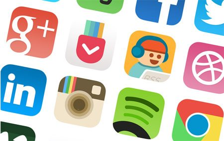 iOS7 App Icon Redesign by Allen Wang