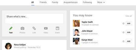 Google UI