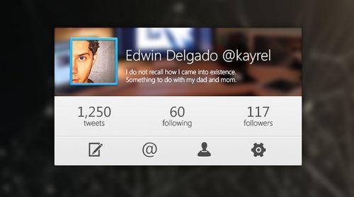 Rebound Twitter by Edwin Delgado