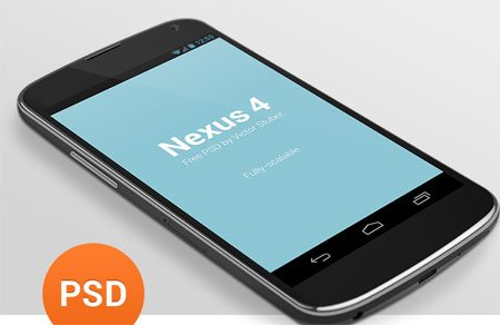 Nexus 4 PSD by Victor Stuber