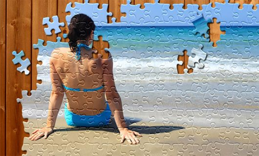 Learn How to Create Jigsaw Puzzle Effect
