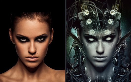Giger Style Photoshop Tutorial