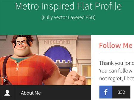 Premium-like Flat Profile PSD
