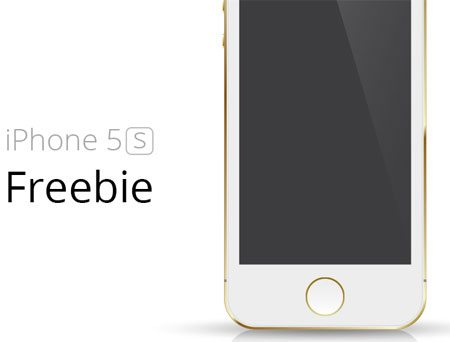 iPhone 5S freebie by Lukáš Zajíc