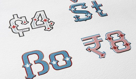 Handpainted Type by Sarang Kulkarni