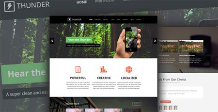 Thunder – Web Template