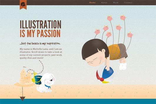 Mitchelle Lana's online portfolio