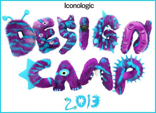 Design Camp 3d logo by Spencer Bigum