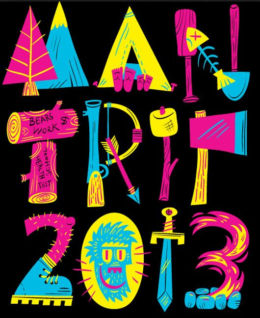 Man Trip T 2013 by Luke Flowers