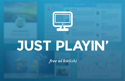 Free UI Kit by Chris Bannister