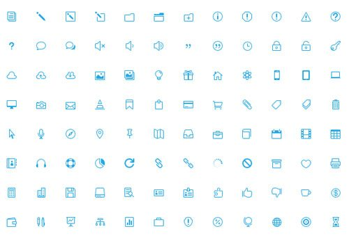360 Of The Best Free Icons For The Modern Web