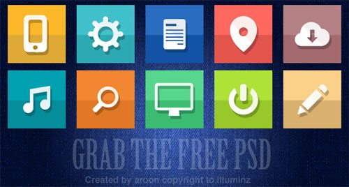 Free icons by aroon