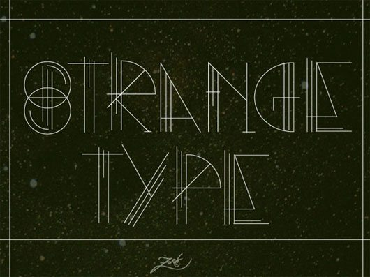 STRANGE TYPE by Zurdo