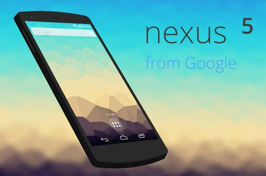 Google nexus5 Model PSD