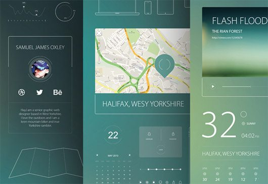 Simple UI Pack by Samuel James Oxley