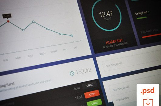 Time Graph UI by Justas Galaburda