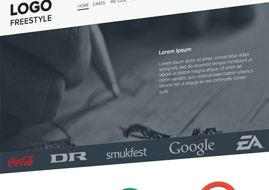 A free landing page by Jonas Streit