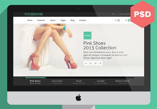 eCommerce Theme by Enzo Li Volti