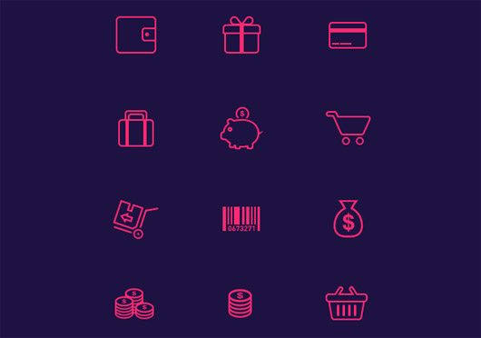 21 E-Commerce Icons