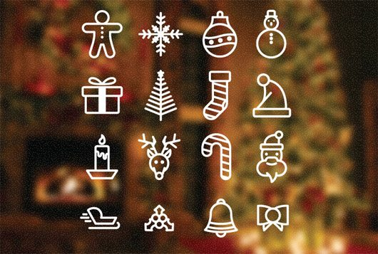 Christmas Icons by Factorious Collective