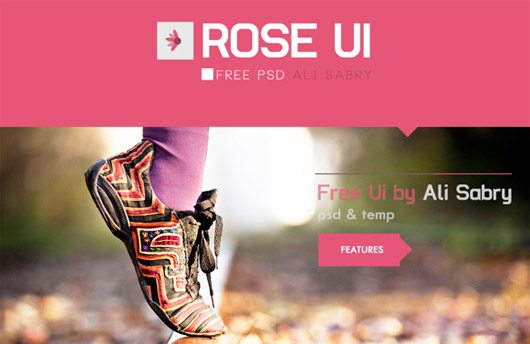 ROSE UI by Ali Sabry