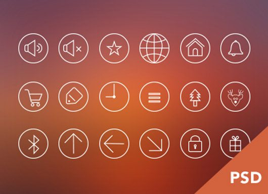 Icons Freebie PSD by Jana de Klerk
