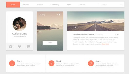 Alpha Free UI Kit
