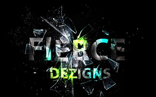 Fierce_Logo_Shattered by Fierce Dezigns